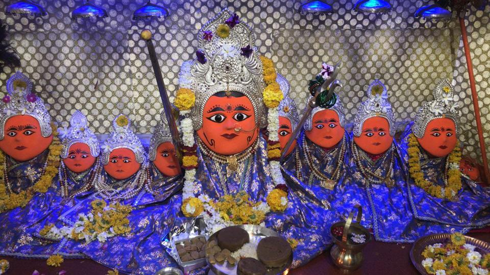 बिजासन माता मंदिर इंदौर